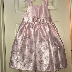 Other - Girl's Pink and Sparkly Dress - Size 4
